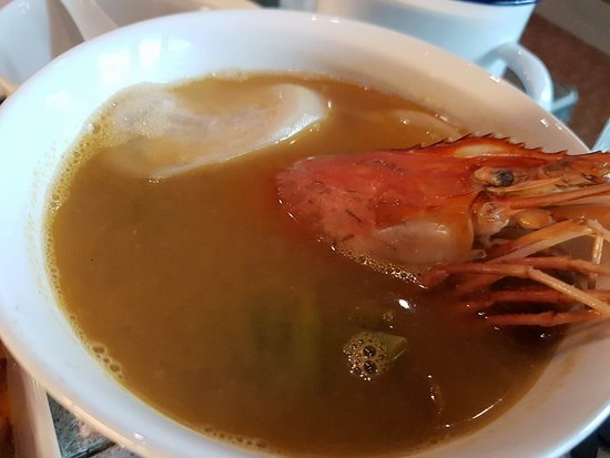 Ulang Big Head Prawn Cooked In Guava Soup Is Flavorful They