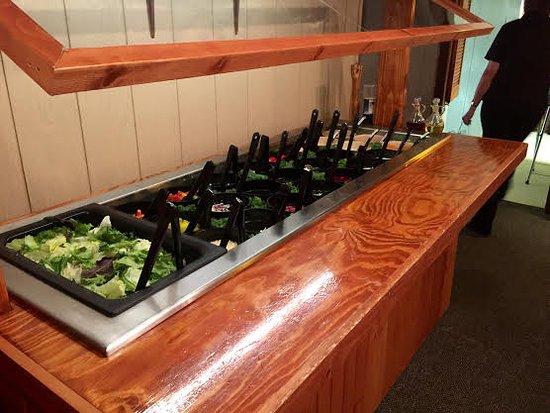 Land O' Lakes, WI: Salad Bar