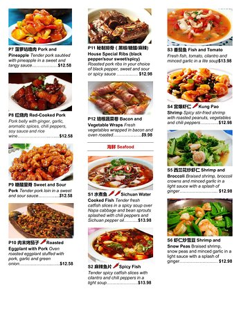 White Fox Restaurant Menu Page 5