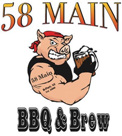 Brockport, Nowy Jork: Logo 58 Main BBQ & Brew