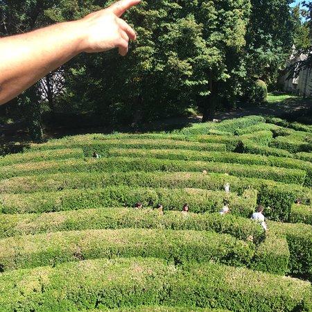 Stra, Italië: Parco della villa e labirinto