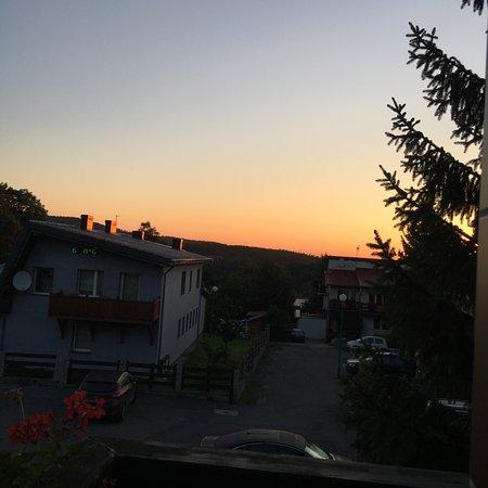 Szklarska Poreba, Polonia: zachodzäce slonce