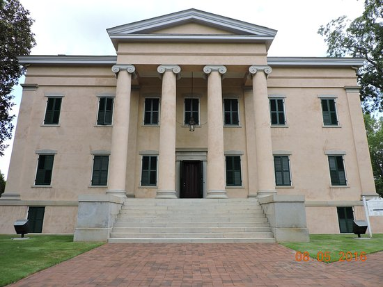 Milledgeville, GA: Old Governor's Mansion front
