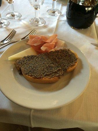 Preci, Italie : crostoni