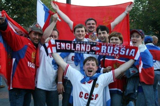 Wembley, UK: Перед матчем