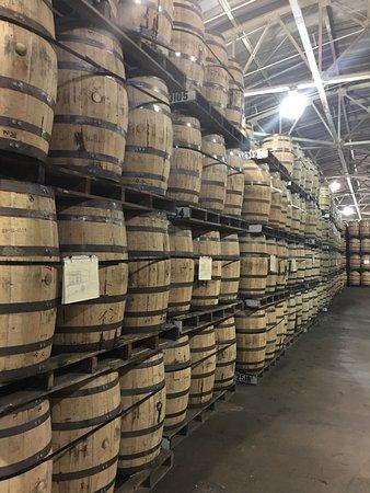Fredericksburg, VA: So many barrels....