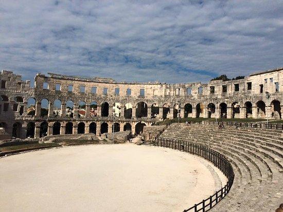 Αμφιθέατρο της Πούλα: Inside of Pula Arena