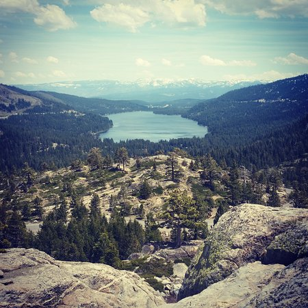 Truckee, CA: view from Donner pass
