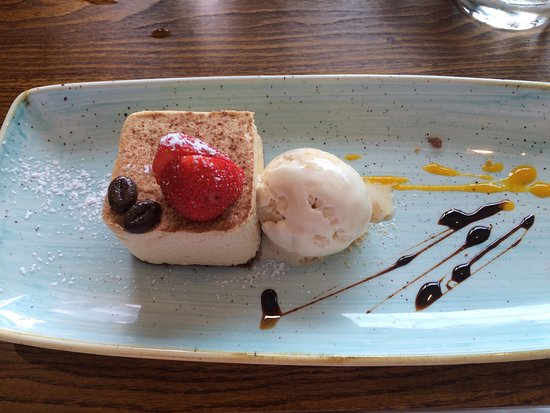Haslemere, UK: One of the speciality desserts