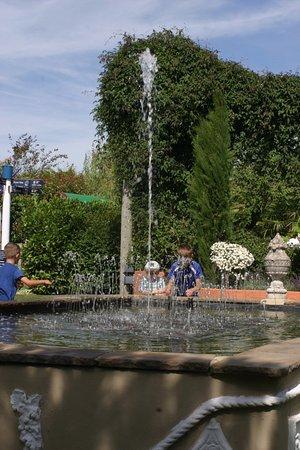 Bromyard, UK: the musical fountain.