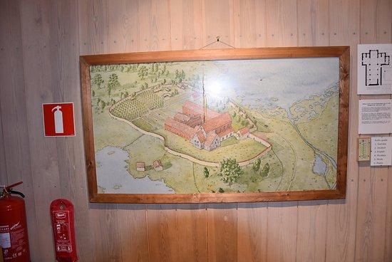 Vrigstad, Sweden: Picture of former Monestry