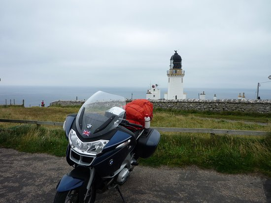 Thurso, UK: The bike was well suited for the narrow road to get here .