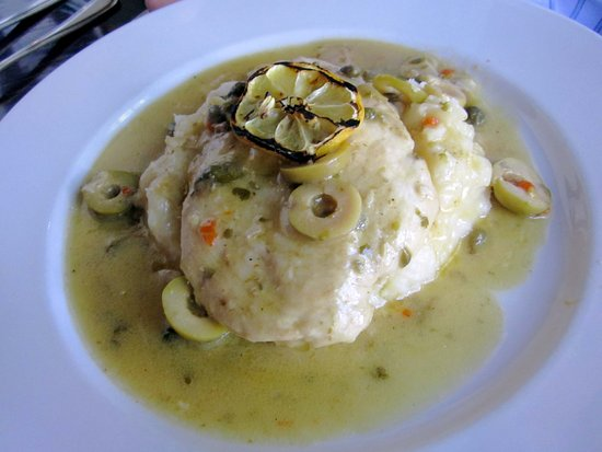 Yardley, PA: Lemon Chicken with Mashed Potato