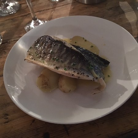 Little Petherick, UK: Sea Bream, very tasty