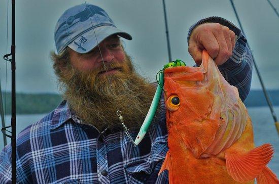 Port Alberni, Kanada: 12 lb yelloweye.