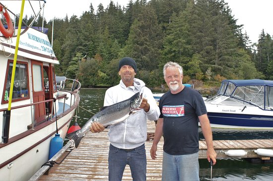 Port Alberni, Kanada: 7 lb coho.