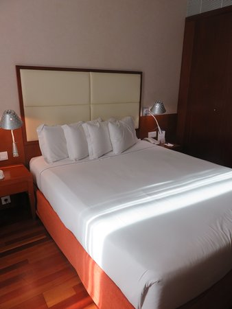 VIP Executive Arts Hotel: The cosy and large room of the hotel