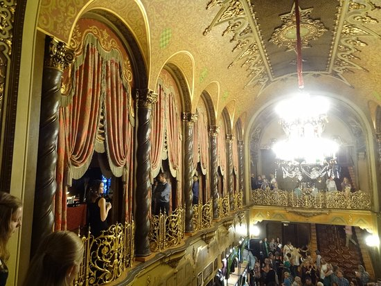 Ohio Theater : From second floor