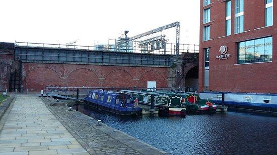Moored at the Wharf!