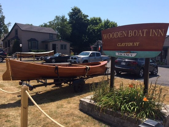 Wooden Boat Inn: Featured boat in Boat Show