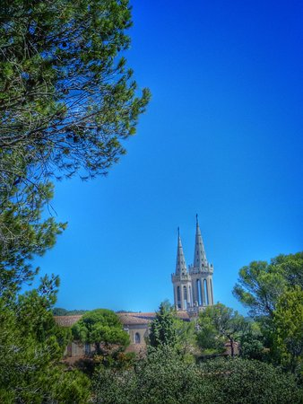 Tarascón, Francia: Ansicht von ausserhalb der Anlage