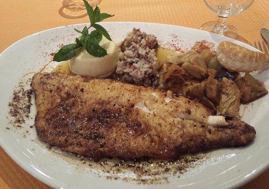 Montmelian, Франция: Filet de Féra belle meunière