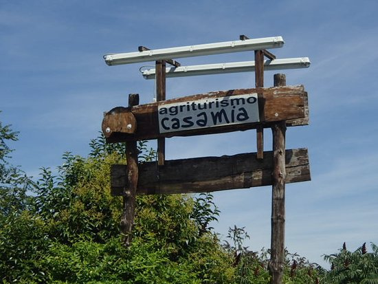 Agriturismo B&B Casamia: highway signage