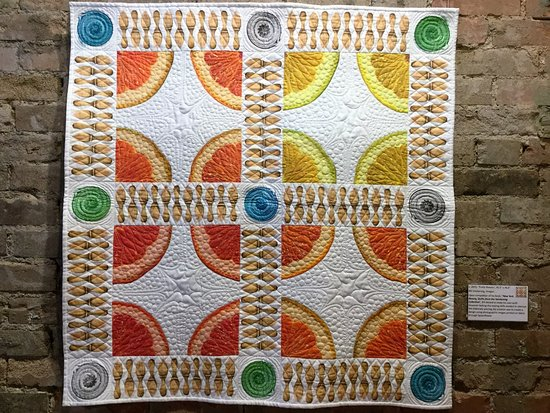 Rocky Mountain Quilt Museum : Quilt on display