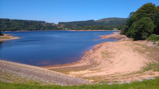 Burrator Reservoir: This was taken part of the way around Burrator on our walk.