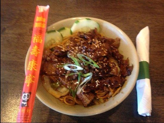 Boxo Noodle Bar: TERIYAKI BOX (BEEF)