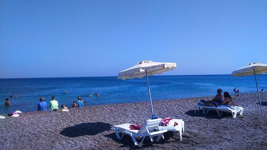 Gennadi, Greece: mare e spiaggia