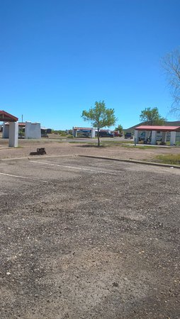 Toyahvale, TX: camp area facing northward