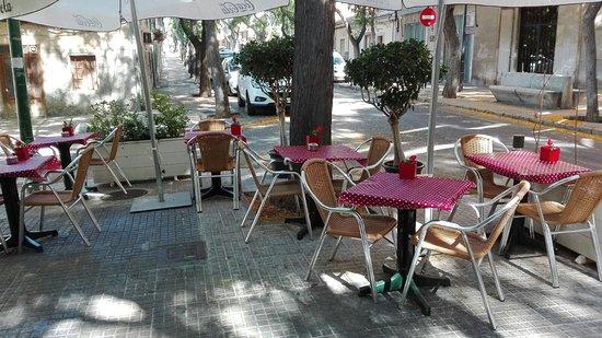 Terraza Verano 2 Picture Of Palapa Restaurant Bar Palma