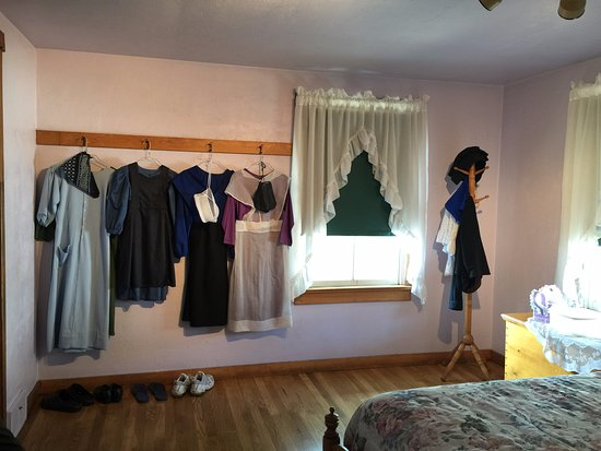 Strasburg, Pennsylvanie : Amish dresses