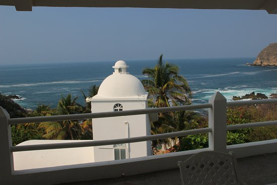 Crucecita, Mexico: From our Balcony