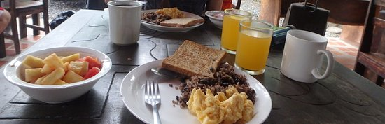 San Pedro, Costa Rica: breakfast and lunch provided