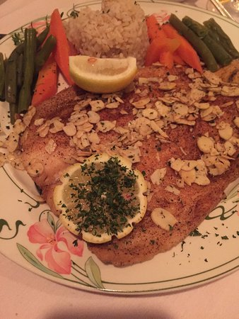 Little Neck, NY: La truite. Trout almondine is one of my favorites