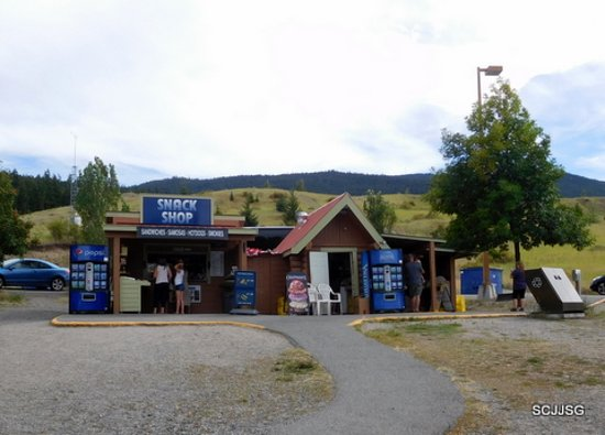 Visitor Centre at Merritt's snack shop