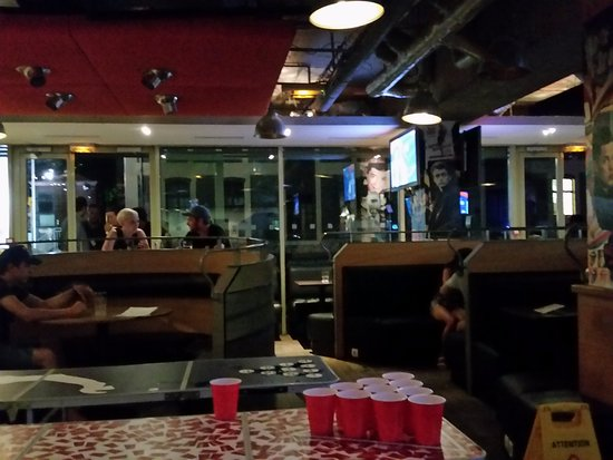 St Christopher's Canal Paris: Night time Beer pong