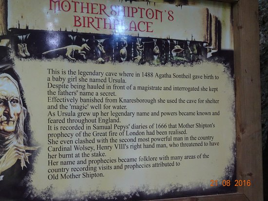 Mother Shipton's Cave and The Petrifying Well: The prophecies are incredible