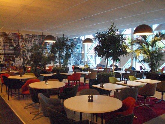 Kista, İsveç: Área do café da manhã