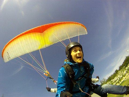 Paragliding Tribalj