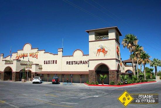 Saddle West Hotel, Casino and RV Resort : Fachada do hotel
