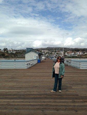 San Clemente Pier: Love walking the pier in the winter