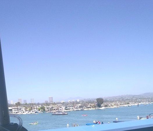 Balboa Island View From The Newport Landing Restaurant In Fun Zone