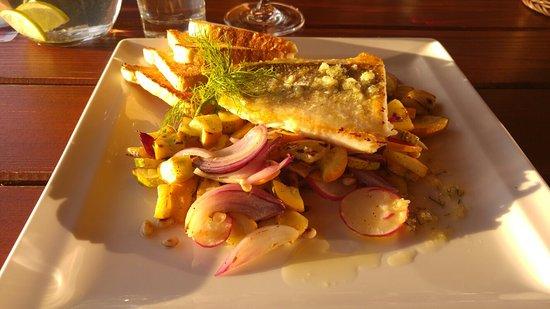 Blansko, สาธารณรัฐเช็ก: Pokrmy v restauraci chutnají i krásně vypadají
