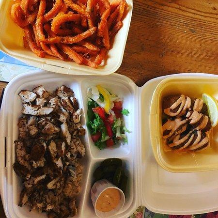 Leyland, UK: Soul Food Express
