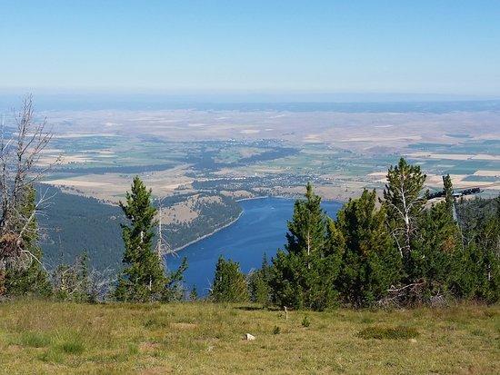 Joseph, Όρεγκον: Top of Mt. Howard overlooking Wallowa Lake