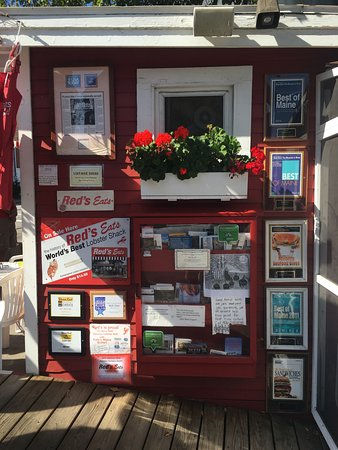 Wiscasset, ME: Awards the restaurant has won and publications in which it has been featured.