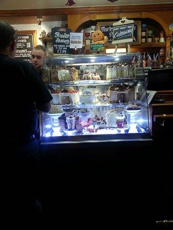 Burnley, UK: icecream